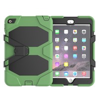 Waterproof Case For iPad Mini 4 Silicone PC Case With Kickstand