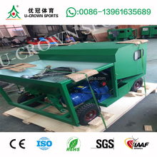 Electric power sprayer machine for rubber running track installation spray coating track