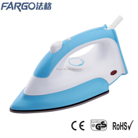 1000W Teflon soleplate non-stick coating cheap price electric dry iron with spray