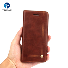 Mobile Phone Flip Bookstyle Leather Flip Cover Case For iPhone X Strong Magnetism