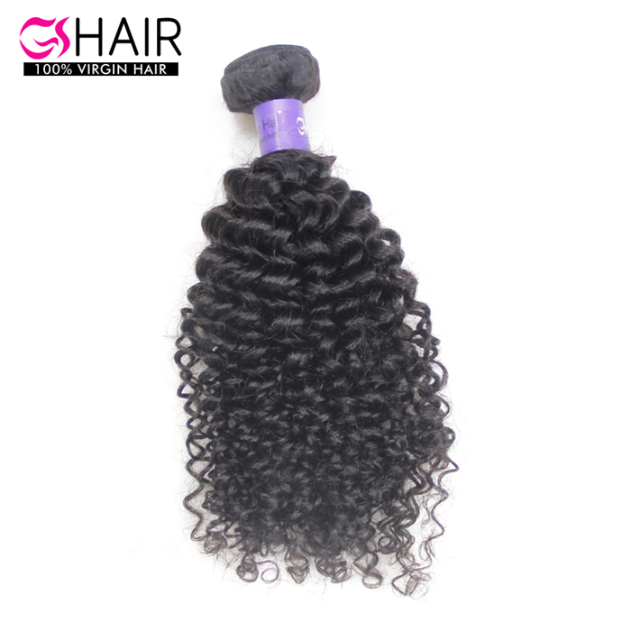 100% virgin india electric hair Kinky Curl Hair