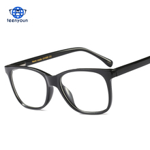 2018 New Computer Glasses Frames Anti Blue Radiation Men Women Square PC Glasses Frames Unisex Optical Print Glasses