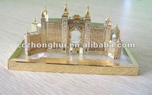 luxurious 3d laser crystal building miniature models