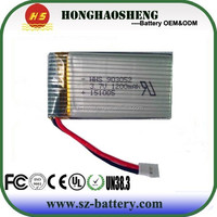 high drain 903052 3 .7v 1200mah lipo battery Syma X5 X5C 903052 battery