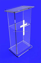 crystal acrylic modern church podium for sale wholesale retail