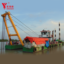 China hot sale 18 inch cutter suction sand/mud dredger