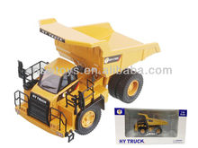 JS3901192 Die Cast Truck Toys Friction Construction Trucks Alloy Metal 1:60 Mini Alloy RC Mining truck toys