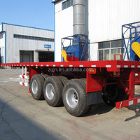 Made In China 3 Axles Flatbed