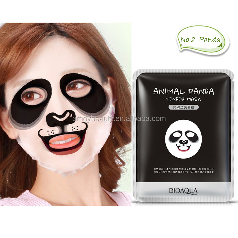 Animal Face Mask South Korea Facial Mask Moisturizing Whitening Oil Control Face Care 30g 4 Animals Types