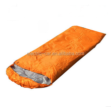 Camping sleeping bag / down goose dows sleeping bag /cotton material inside