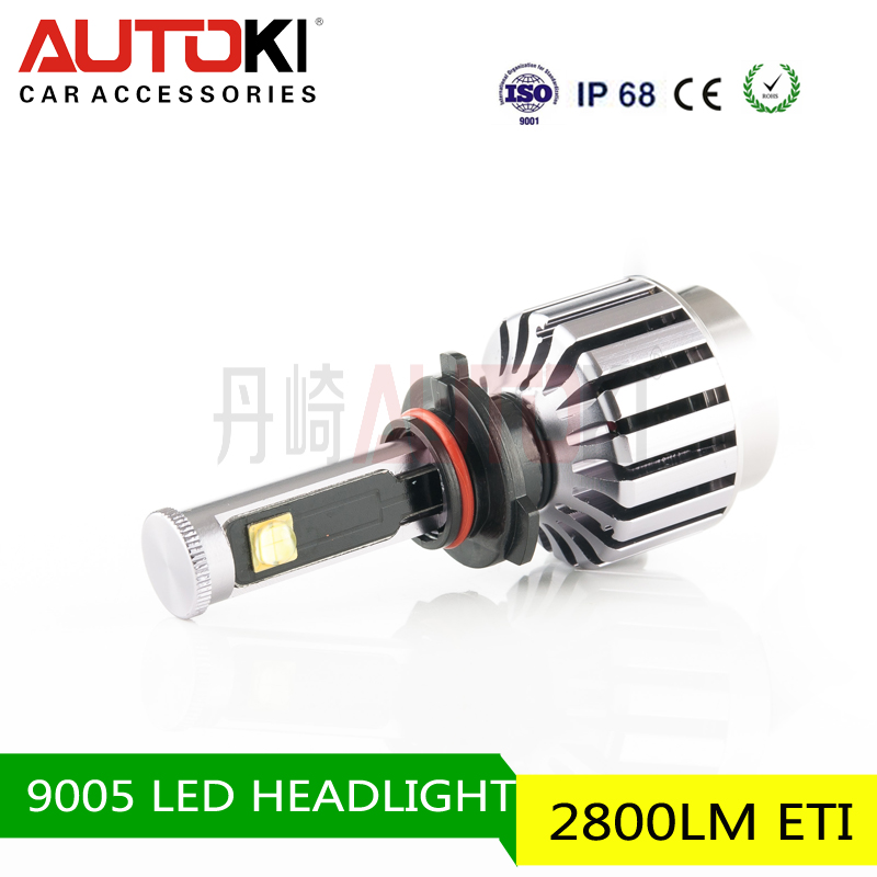 2016 Autoki Long life time 4x4 accessories, Car LED Projector Headlight DOT Approved Round LED Head Light bulb