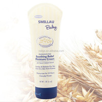 Natural colloidal oatmeal smoothing relief moisture baby facial cream
