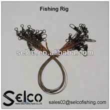 qualitied wire leader with swivel fishing tool