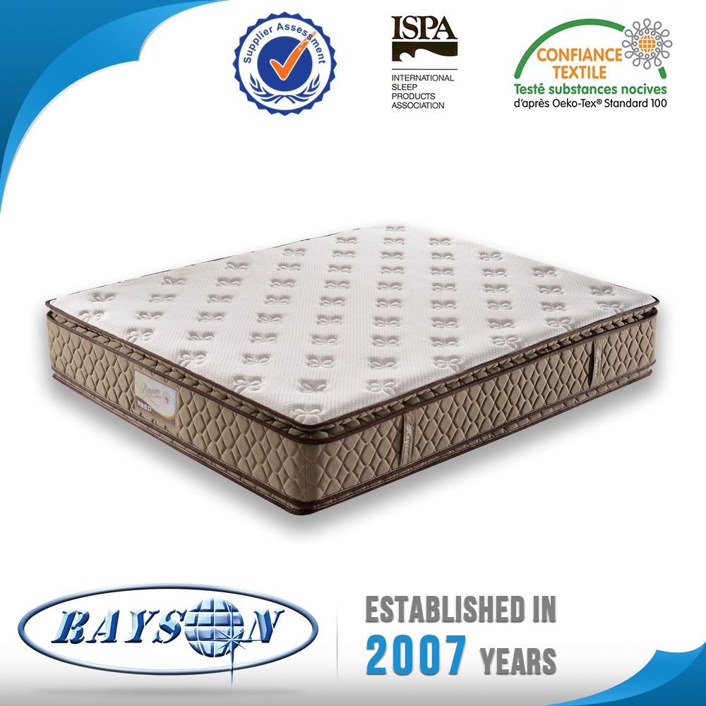 Factory Price Comfort Zone Pocket Box Spring Mattress Beds For Hotels