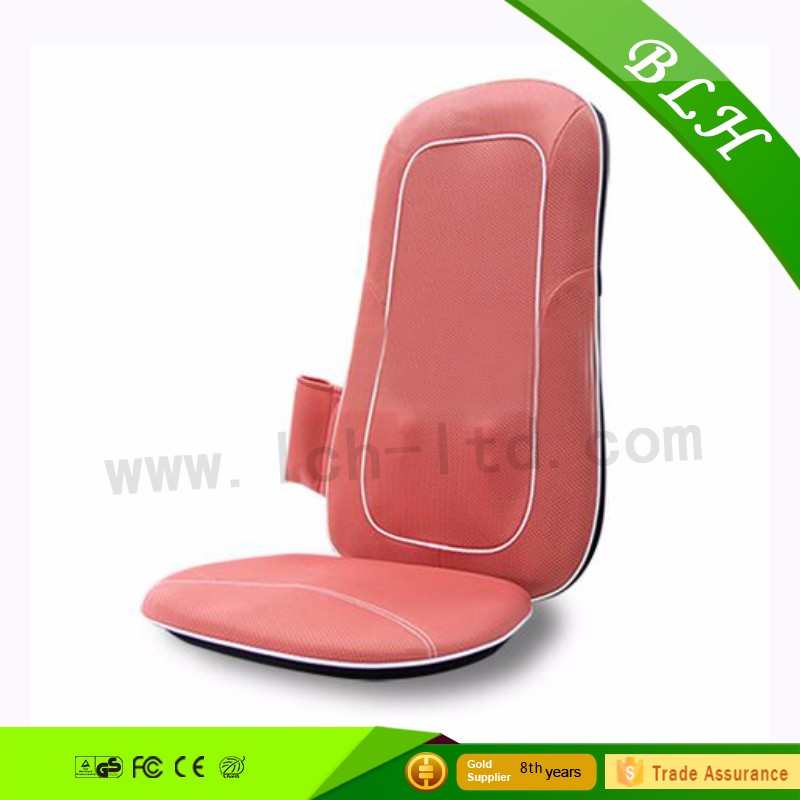 BLH Custom Logo Infrared Vibrating Kneading Rolling Shiatsu Body lumbar back relax shiatsu massage cushion