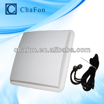 uhf rfid antenna with 9dBi gain and circular polarization with 3~7m read range mainly used for warehouse management application