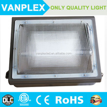 60w LED wall packs half cutoff 5 years warranty with UL cUL listed driver MeanWell driver IP65