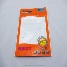 Plastic Waterproof PE LDPE HDPE LLDPE Ziplock Bag Electronic Components Packing Plastic Bag With One Clear Window