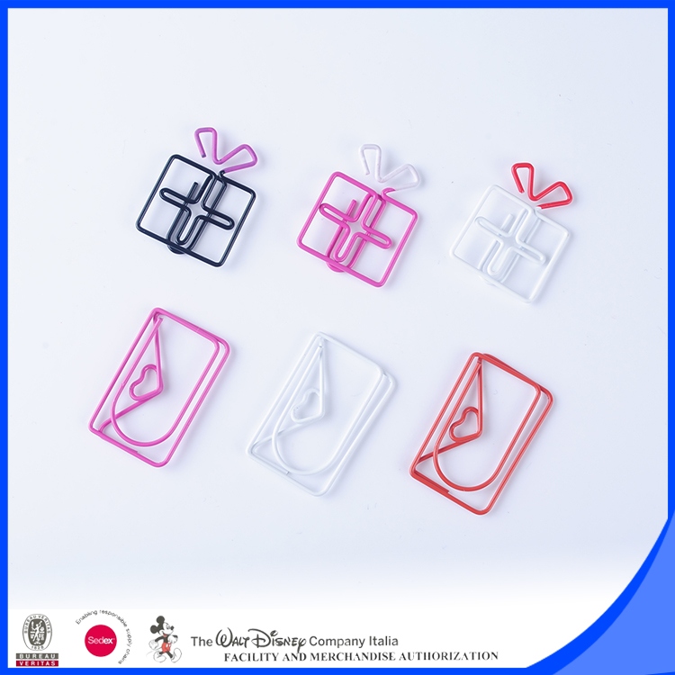 New gifts items painting paper clips