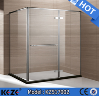 hot seller four side folding glass with frame bath shower screen