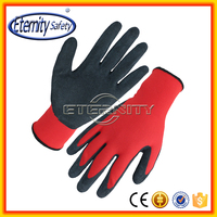 Daily life useful latex coating palm safety gloves