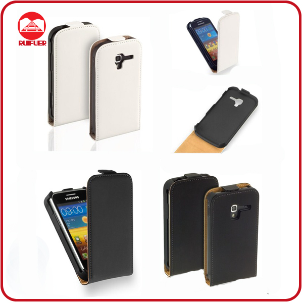 Hot Selling Classic Flip Leather Cell Phone Case for Samsung Galaxy Ace 2 I8160