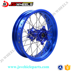 "16X3.5"" 17X5.0"" YZF250F/450 Complete Super Motorcycle Full Alloy Spoked CNC Wheels"
