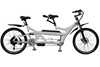 Electric tandem surrey bike cruiser chopper city road bike