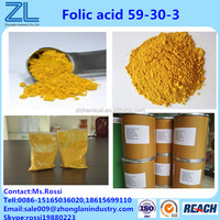 Food grade Folic acid VitaminB9 Powder for dietary supplements