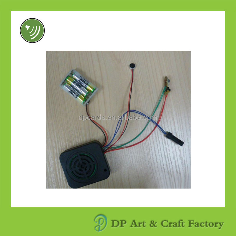 Experienced supplier mini voice recording module for talking promotion gifts
