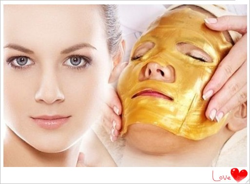 OEM HOT Selling 24k Gold whitening moisturizing collagen crystal skin care gold facial mask