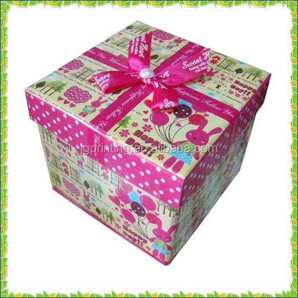 colorful paper gift box with animal printed for children toy packaging,toy packaging box,snacks packaging box