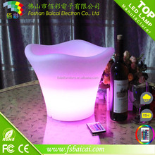 Luminous LED Ice Bucket With 16 colors Change