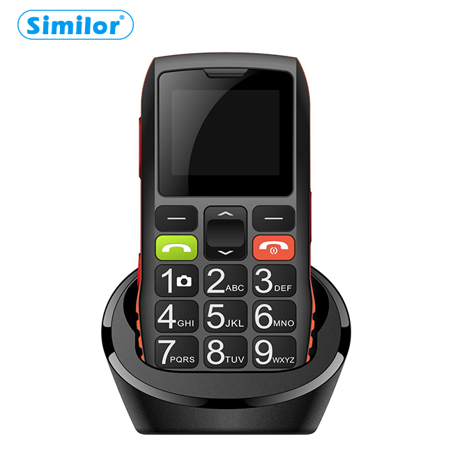 Similor 2018 hot sale large button china mobile <strong>phone</strong> dual-sim dual standby old man use cell <strong>phone</strong>