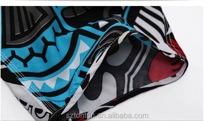 Sublimation custom blank board shorts wholesale