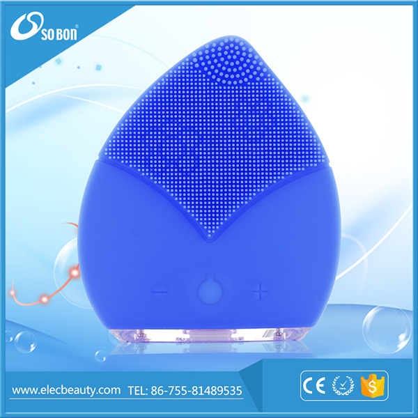 Professional beauty tools, facial cleansing brush manufacturer with ultrasonic massage