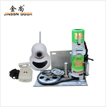 Alibaba OEM Custom Roll Up Garage Door Opener/Motor Garage with Video Remote Control