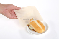 Reusable Toast Toaster Bags Non Stick Oven Grill Panini Pizza Sandwich Bag