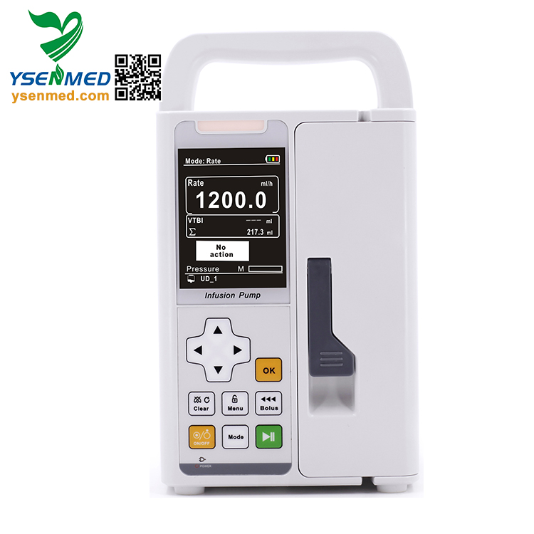 YSSY-1200 high quality automatic portable ambulance electric medical infusion pump