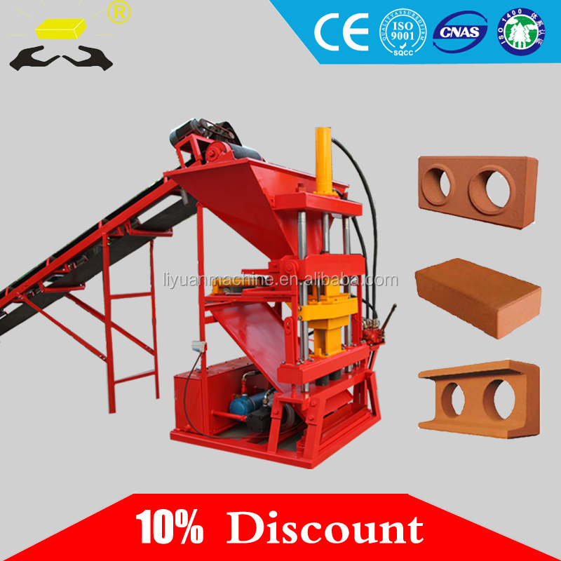 Eco 2700 Clay Brick Pavers Machine hollow block machine in philippines