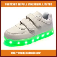 Wholesale best price led light running kids shoes