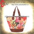 2013 latest lady's canvas tote bag/custom printed canvas tote bags/canvas tote bags bulk