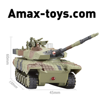 12199819-1: 64 wireless remote control infrared battle tanks