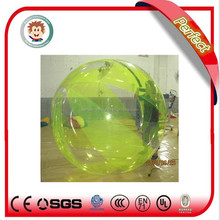 PVC promotional yellow inflatable ball water ball water walking ball