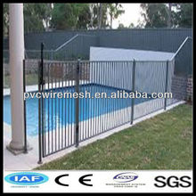new product 1200H*2400W flat top security 38x25mm tubular pool fencing