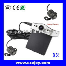 New HD Dual-lens 720p EJ-DVR-X2 Camera for car