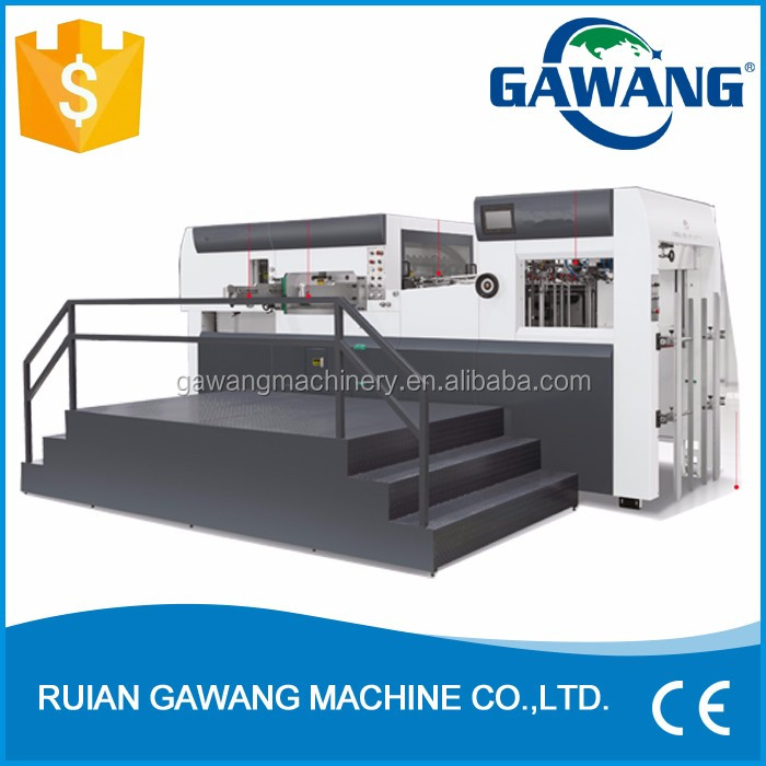 China Product Automatic Jigsaw Puzzle Die Cutting Machine On Market