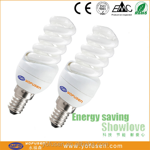 Low price full spiral energy saver lamps CFL made in China