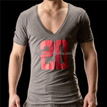 Bodybuilding v neck t shirt OEM different types of t shirts in china