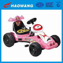 Alibaba China Supplier Fashion Toy Pedal Pink Go Kart For Kids